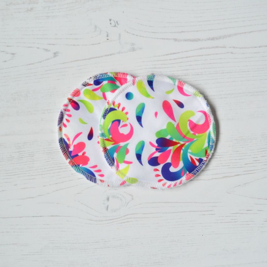 Summer Swirl Nursing Pads